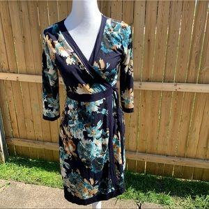 Gilli Faux Wrap Floral Dress
